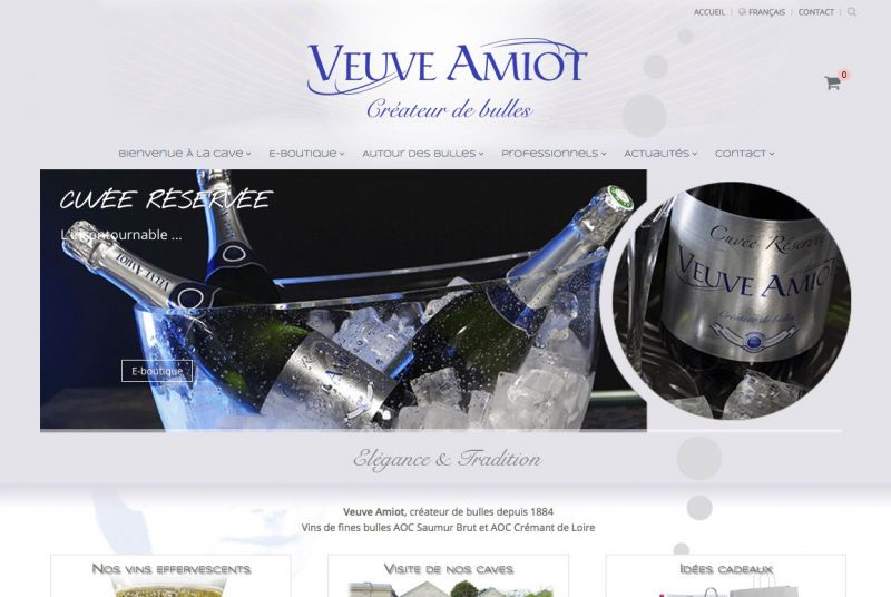 Boutique E-commerce Veuve Amiot